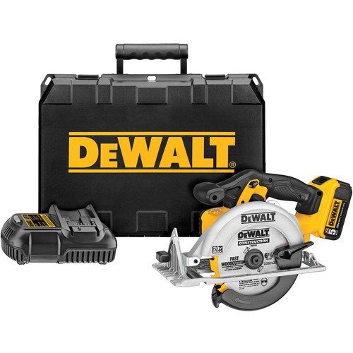 Dewalt DCS391P1 20V MAX Cordless Lithium-Ion 6-1/2 in. Circular Saw Kit image number 0