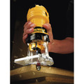 Dewalt DWE6000 4.5 Amp Single Speed 1/4 in. Laminate Trimmer image number 4