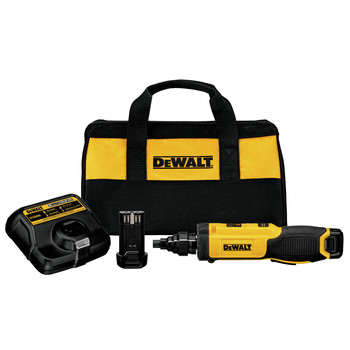 Dewalt DCF681N2 8V MAX Cordless Lithium-Ion Gyroscopic Screwdriver with Conduit Reamer