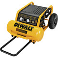 Dewalt D55146 1.6 HP 4.5 Gallon Oil-Free Wheeled Portable Air Compressor image number 3