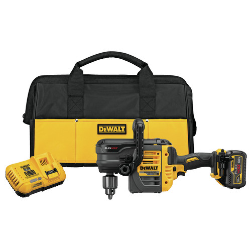 Dewalt DCD460T1 FlexVolt 60V MAX Cordless Lithium-Ion VSR Stud and Joist Drill Kit with Battery
