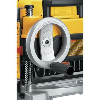 Dewalt DW735 13 in. Two-Speed Thickness Planer image number 7