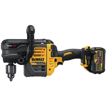Dewalt DCD460T2 FlexVolt 60V MAX Lithium-Ion Variable Speed 1/2 in. Cordless Stud and Joist Drill Kit with (2) 6 Ah Batteries image number 4
