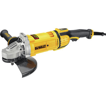 Factory Reconditioned Dewalt DWE4599NR 9 in. 6,500 RPM 4.9 HP Angle Grinder with No Lock-On image number 1
