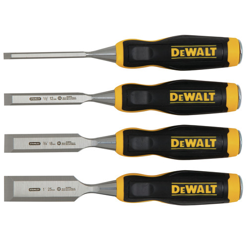 Dewalt DWHT16063 4 Piece Wood Chisel Set