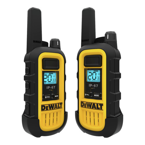 Dewalt DXFRS300 1 Watt Heavy Duty Walkie Talkies (Pair) image number 3