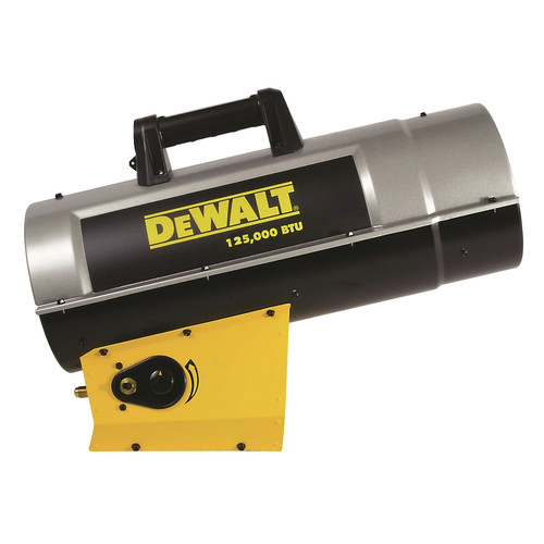 Dewalt DXH125FAV 85,000 - 125,000 BTU Forced Air Propane Heater