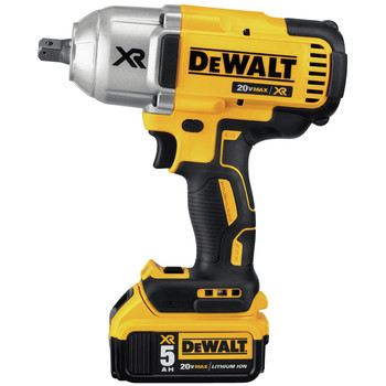 Dewalt DCF899P2 20V MAX XR Cordless Lithium-Ion 1/2 in. Brushless Detent Pin Impact Wrench with 2 Batteries image number 1