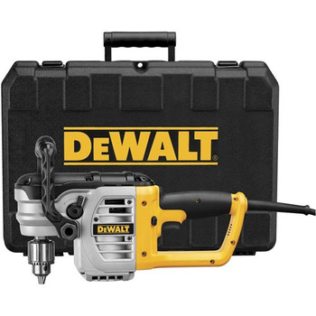 Dewalt DWD460K 11 Amp Heavy-Duty Variable Speed 1/2 in. Corded Stud and Joist Drill Kit with Clutch and Bind-Up Control System image number 0