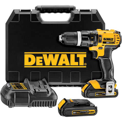 Factory Reconditioned Dewalt DCD785C2R 20V MAX Lithium-Ion Compact 1/2 in. Cordless Hammer Drill Driver Kit (1.5 Ah) image number 0