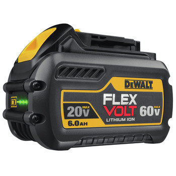 Dewalt DCD460T2 FlexVolt 60V MAX Lithium-Ion Variable Speed 1/2 in. Cordless Stud and Joist Drill Kit with (2) 6 Ah Batteries image number 6