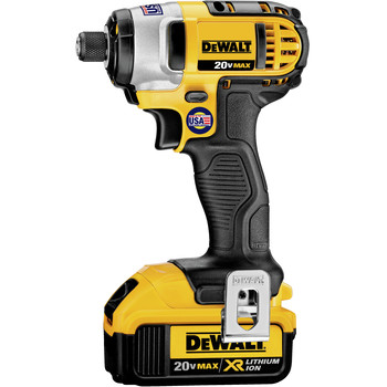 Dewalt DCF885M2 20V MAX XR Cordless Lithium-Ion 1/4 in. Impact Driver Kit image number 1