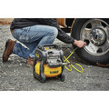 Dewalt DCC2560T1 60V MAX FLEXVOLT 2.5 Gallon Oil-Free Pancake Air Compressor Kit image number 15