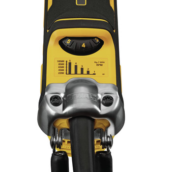 Dewalt DWE43214NVS 5 in. Brushless No-Lock Variable Speed Paddle Switch Small Angle Grinder with Kickback Brake image number 2