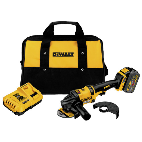 Factory Reconditioned Dewalt DCG414T1R 60V MAX Cordless Lithium-Ion 4-1/2 in. - 6 in. Grinder with FlexVolt Battery image number 0