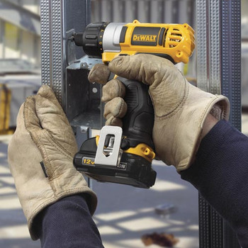 Dewalt DCF610S2 12V MAX Cordless Lithium-Ion 1/4 in. Hex Chuck Screwdriver Kit image number 5