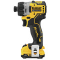 Dewalt DCF601F2 XTREME 12V MAX Brushless Lithium-Ion 1/4 in. Cordless Screwdriver Kit (2 Ah) image number 1