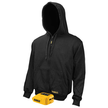 Dewalt DCHJ067B-L 20V MAX Li-Ion Heated Hoodie Jacket (Jacket Only) - Large