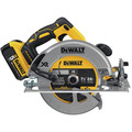 Dewalt DCS570P1 20V MAX 7-1/4 Cordless Circular Saw Kit with 5.0 AH Battery image number 1