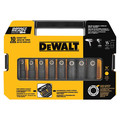 Dewalt DW22812 10 Pc 1/2 in. SAE Drive Impact Ready Socket Set image number 0