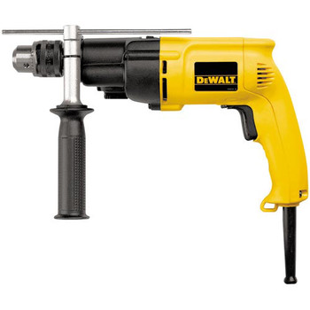 Factory Reconditioned Dewalt DW505R 7.8 Amp 0 - 1000 / 0 - 2700 RPM Variable Speed Dual Range 1/2 in. Corded Hammer Drill image number 0