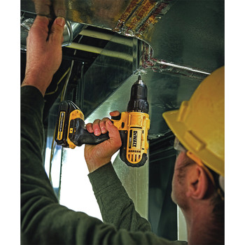 Dewalt DCD771C2 20V MAX Lithium-Ion Compact 1/2 in. Cordless Drill Driver Kit (1.3 Ah) image number 3