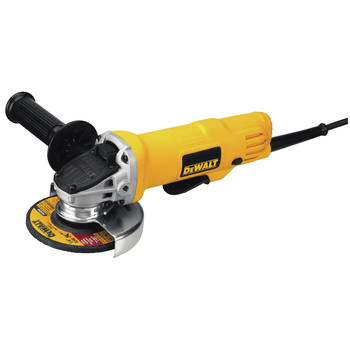 Dewalt DWE4012 7 Amp 4.5 in. Small Angle Grinder with Paddle Switch image number 1