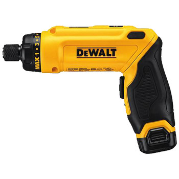 Factory Reconditioned Dewalt DCF680N2R 8V MAX Cordless Lithium-Ion Gyroscopic Screwdriver Kit with 2 Compact Batteries image number 1