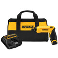 factory reconditioned dewalt dcf680n1r 8v max li-ion gyroscopic screwdriver kit