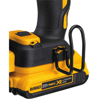 Factory Reconditioned Dewalt DCN660D1R 20V MAX 2.0 Ah Cordless Lithium-Ion 16 Gauge 2-1/2 in. 20 Degree Angled Finish Nailer Kit image number 3