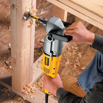 Dewalt DW124K 11.5 Amp 300/1200 RPM 1/2 in. Corded Stud and Joist Drill Kit image number 2