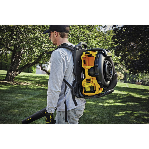 Factory Reconditioned Dewalt DCBL590X2R 40V MAX Cordless Lithium-Ion XR Brushless Backpack Blower Kit with 2 Batteries image number 10