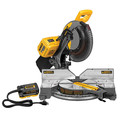 Dewalt DHS716AB 120V MAX FLEXVOLT Cordless Lithium-Ion 12 in. Fixed Compound Miter Saw with Adapter Only (Bare Tool)
