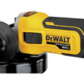 Dewalt DCG405B 20V MAX 4.5 in. Slide Switch Cordless Small Angle Grinder with Kickback Brake (Tool Only) image number 2