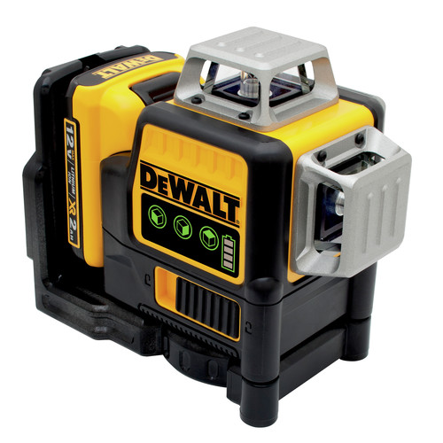 Dewalt DW089LG 12V MAX 3 x 360 Degrees Green Line Laser image number 0