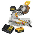 Factory Reconditioned Dewalt DCS361M1R 20V MAX Cordless Lithium-Ion 7-1/4 in. Sliding Compound Miter Saw Kit image number 5
