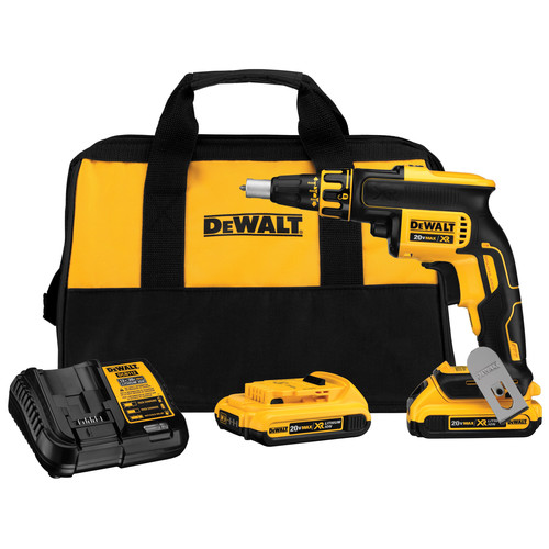 Factory Reconditioned Dewalt DCF620D2R 20V MAX XR Cordless Lithium-Ion Brushless Drywall Screwgun Kit image number 0