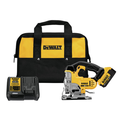 Dewalt DCS331M1 20V MAX XR Cordless Lithium-Ion Jigsaw Kit