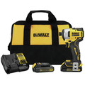 Factory Reconditioned Dewalt DCF809C2R ATOMIC 20V MAX Brushless Lithium-Ion Compact 1/4 in. Cordless Impact Driver Kit (1.3 Ah) image number 0