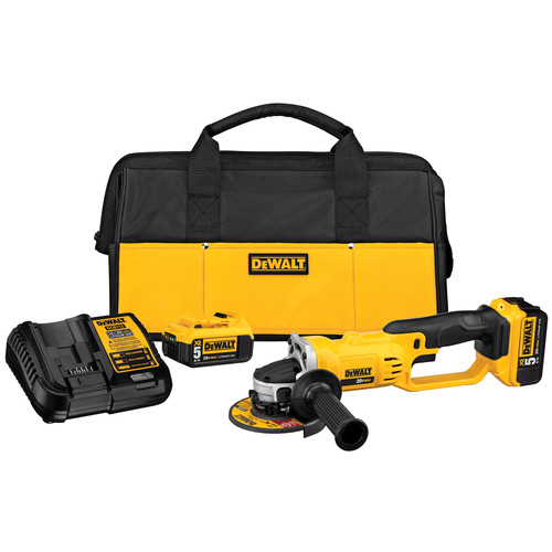 Dewalt DCG412P2 20V MAX Cordless Lithium-Ion 5 in. Grinder Kit