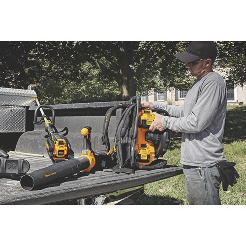 Factory Reconditioned Dewalt DCBL590X2R 40V MAX Cordless Lithium-Ion XR Brushless Backpack Blower Kit with 2 Batteries image number 8