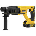 Dewalt DCH133M2 20V MAX XR Cordless Lithium-Ion 1 in. D-Handle SDS-Plus Rotary Hammer Kit image number 1
