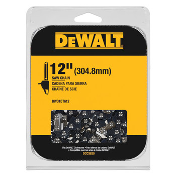 Dewalt DWO1DT612 12 in. Chainsaw Replacement Chain
