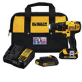 Factory Reconditioned Dewalt DCD780C2R 20V MAX Lithium-Ion Compact 1/2 in. Cordless Drill Driver Kit (1.5 Ah) image number 0