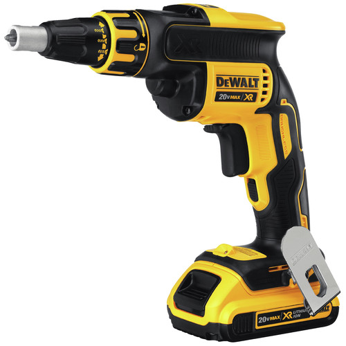Factory Reconditioned Dewalt DCF620D2R 20V MAX XR Cordless Lithium-Ion Brushless Drywall Screwgun Kit image number 1