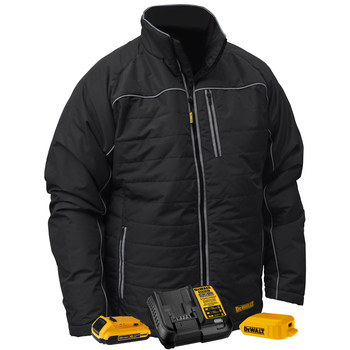 Dewalt DCHJ075D1-VR 20V MAX Li-Ion Quilted/Heated Jacket Kit
