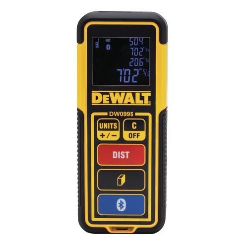 Dewalt DW099S 100 ft. Bluetooth-Enabled Laser Distance Measurer image number 0