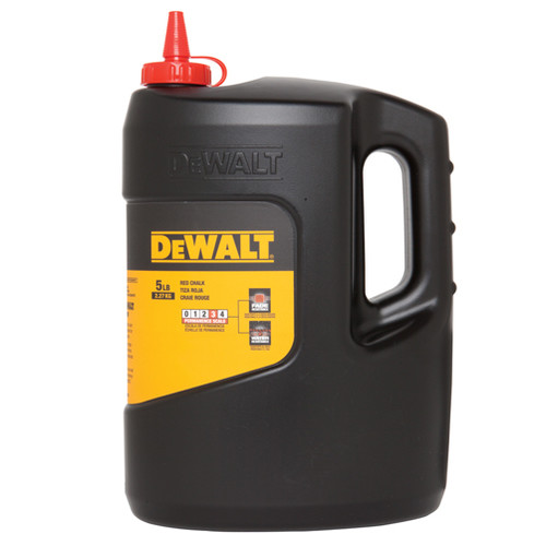 Dewalt DWHT47059 5 lbs. High-Grade Reel Chalk (Red)