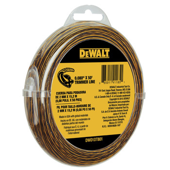 Dewalt DWO1DT801 0.080 in. x 50 ft. String Trimmer Line image number 1