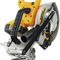 Factory Reconditioned Dewalt DCS361M1R 20V MAX Cordless Lithium-Ion 7-1/4 in. Sliding Compound Miter Saw Kit image number 8